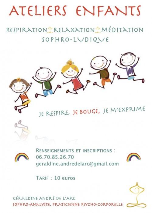 Ateliers enfants - Un Voyage au Coeur de Soi - Sophro-Analyse